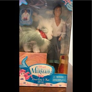 The little mermaid Eric and max Barbie